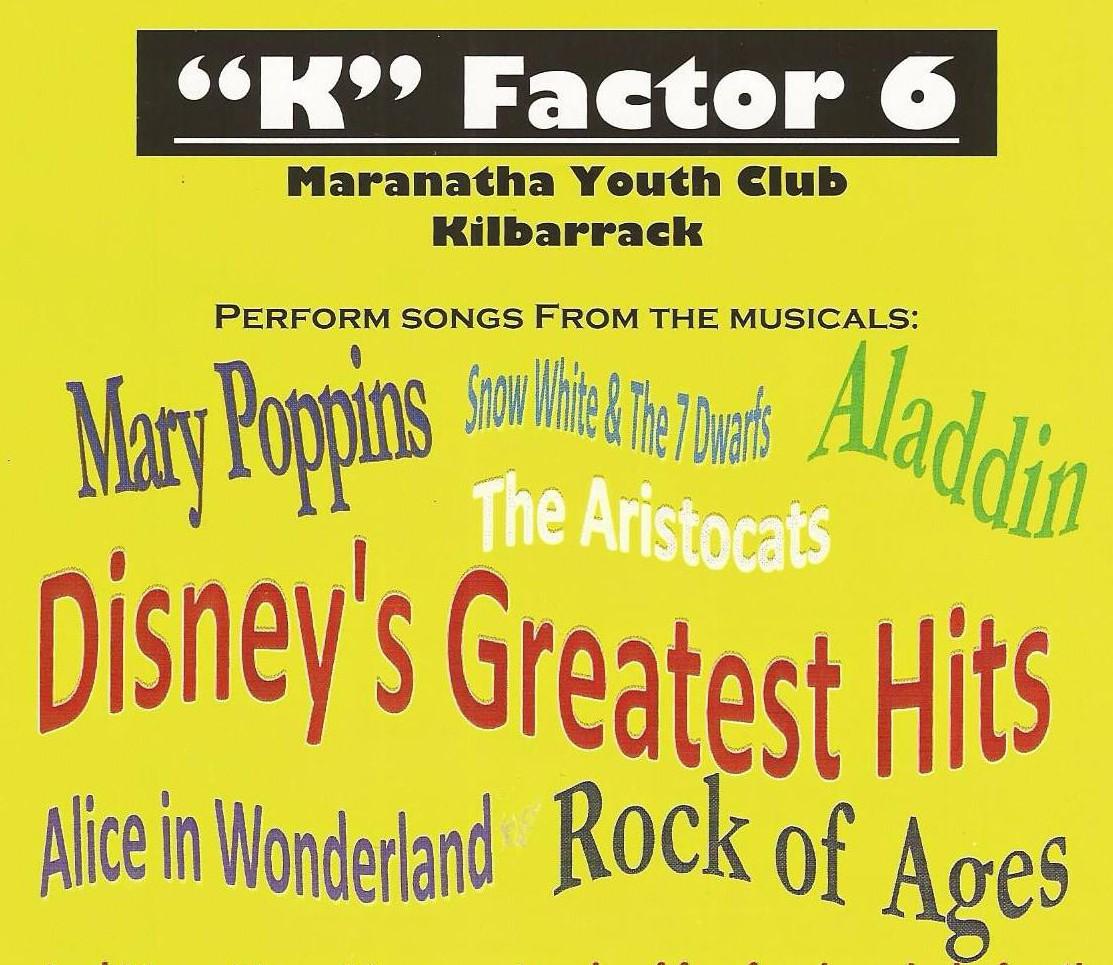 "Maranatha Youth Club – ""K"" Factor 6Show"