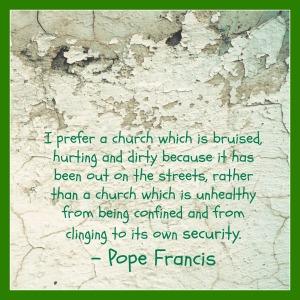 church bruised