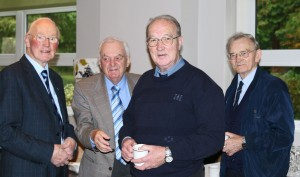 Brothers Mel Gill, Tom Furlong, Tom Connolly and Michael Heffernan