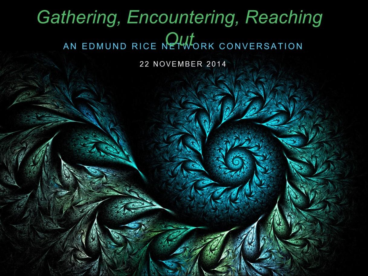 Vivek's Presentation from Edmund Rice Network ConversationDay