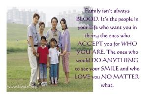 family no matter