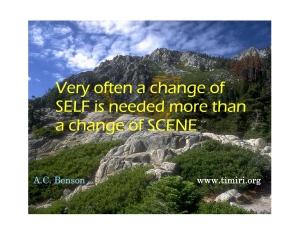 change of self_001