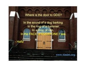 door to God_001