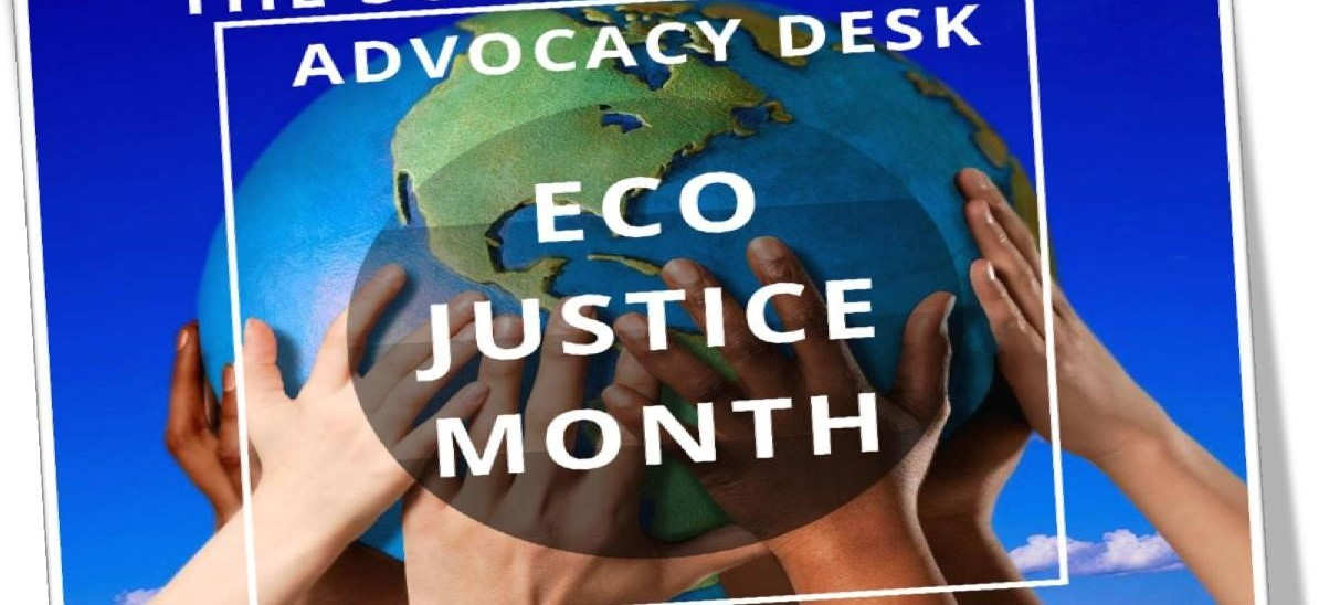 Edmund Rice Network South Africa's Social Justice & Advocacy Desk – Eco Month
