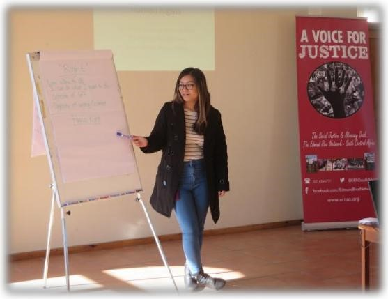 Human Rights Training in Khayelitsha, South Africa