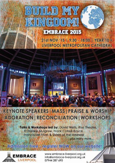 Embrace Liverpool  2015 – Build myKingdom