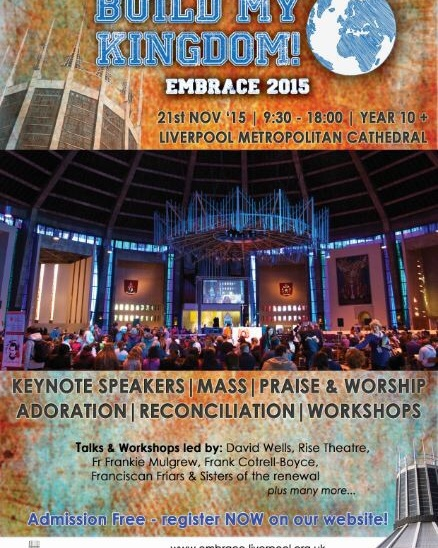 Embrace Liverpool  2015 – Build my Kingdom