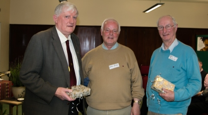 Presentation to John Bourke and Dónall Ó Connaill