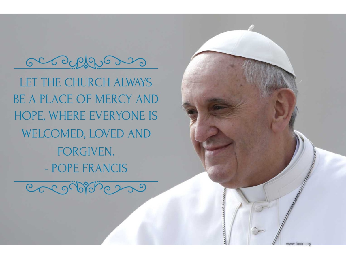 Pope's Prayer intentions for March
