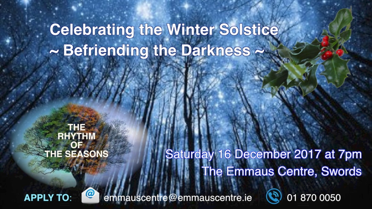 Befriending the Darkness - Winter Solstice Ritual
